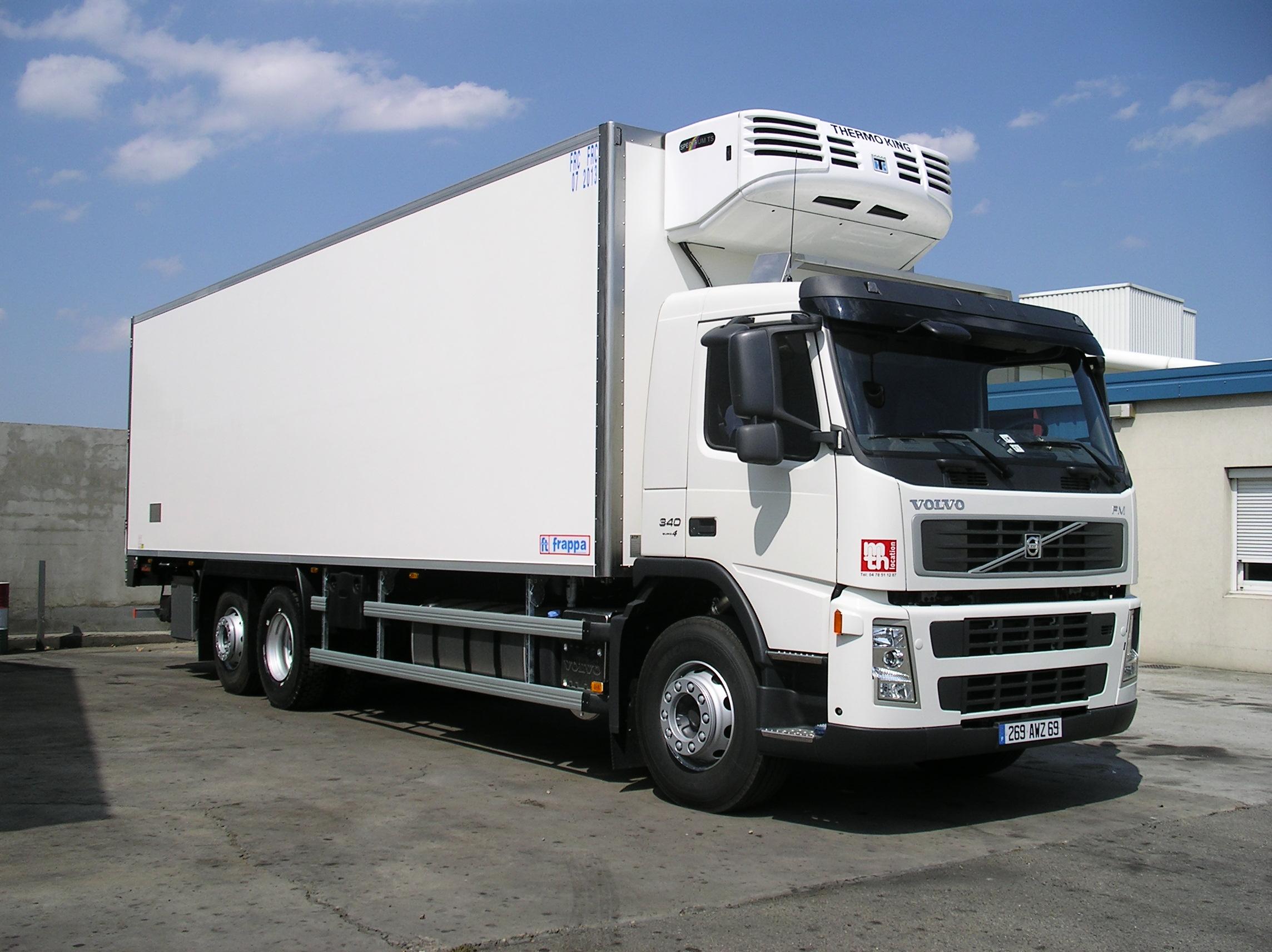 Location camions frigorifiques
