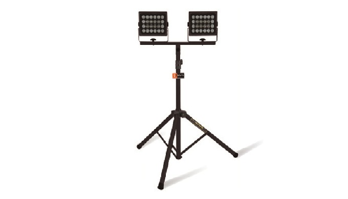 Tripod LED working light All-weather LED working light that can be used continuously with AC220V power. The tripod allow