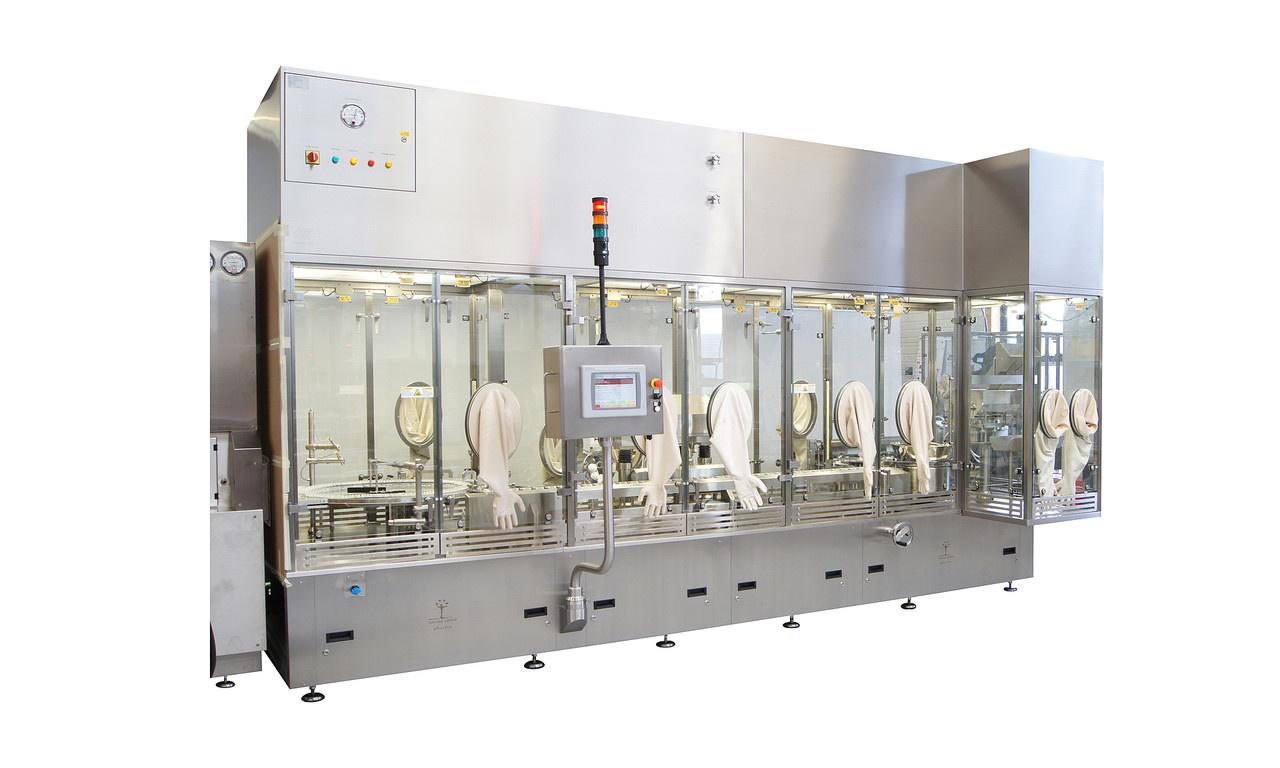 100% In-Prozess-Kontrolle (100% IPK)Für den aseptischen Einsatzbereich Schonender Objekttransport Disposable Produktpfad