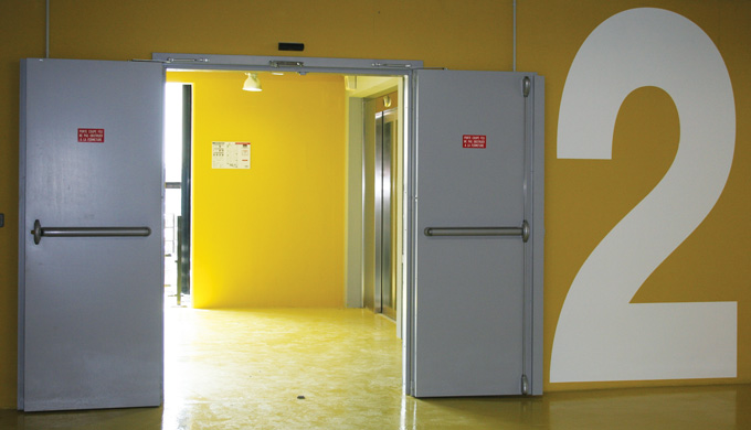 Portes Métalliques Techniques EI60 / EI120 2 vantaux