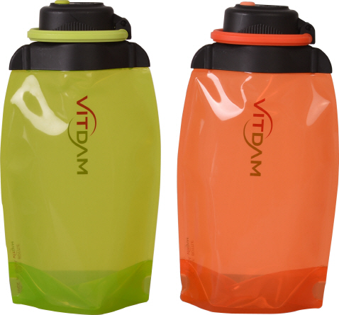 foldable water bottle 500ml,