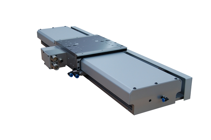 Motorized precision slides with integrated linear motor