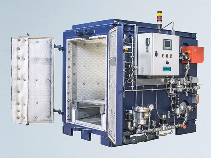 WIWOX Pyrolyse-Öfen zur thermischen Entlackung, Entschichtung und Entisolierung. Ob genehmigungsfreie Kompaktanlagen od