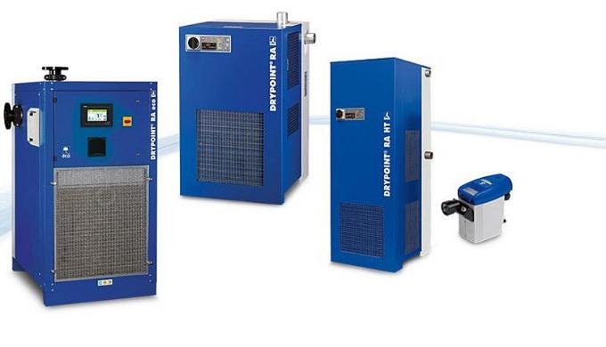 DRYPOINT® RA - Kältetrockner: das wirtschaftlichste Trocknungsverfahren Druckluftkältetrockner sind für den Einsatz in d