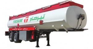 Véhicules conçues pour le transport de produits hydrocarbures Pression de service maxi 0,3 bar Citerne récipient mesure