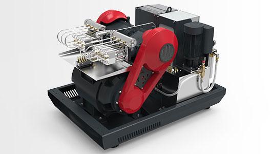 100HP Direktdriven pump