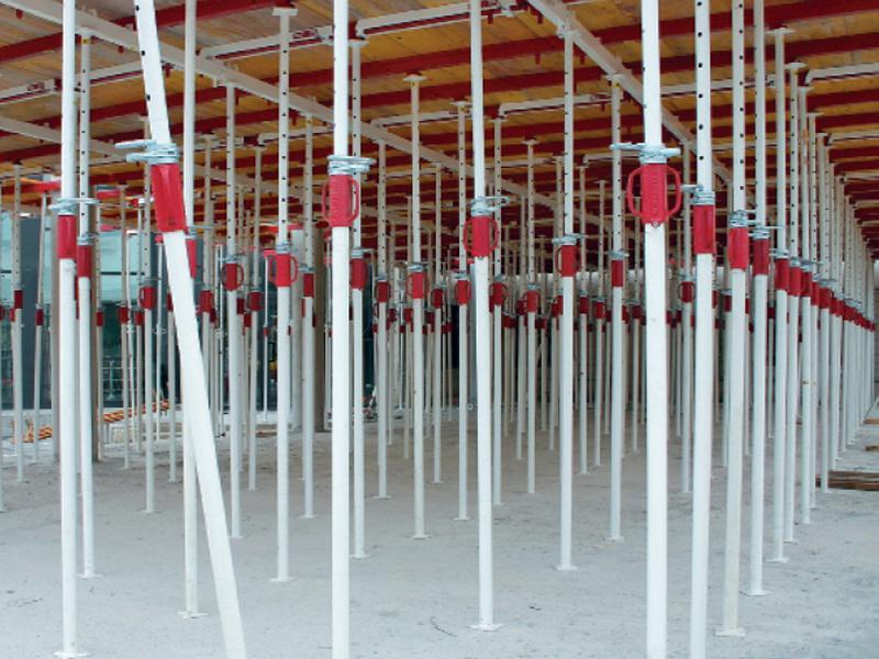 Alquiler Puntales de 1 metro Puntales de 1,70– 3,10 metros Puntales de 2,50 – 4,15 metros Puntales de 5 metros