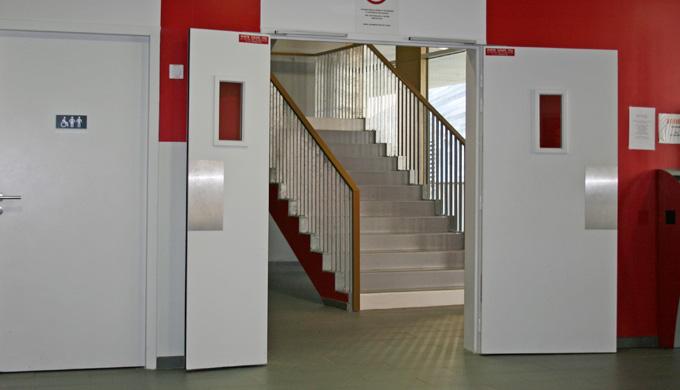 1 vantail pour porte largeur 930 avec ferme-porte 2 vantaux jonction EFDL joint lèvre pour porte largeur 930 + 530 ou 93