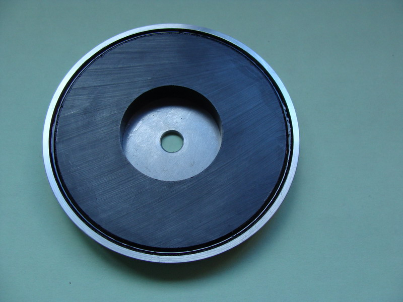 Holding magnets/ pot magnets  Holding or pot magnets are used in almost all branches of industry as handling aids for h