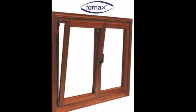 L Wooden Hinged Double Opening Systems (Perimetrik)