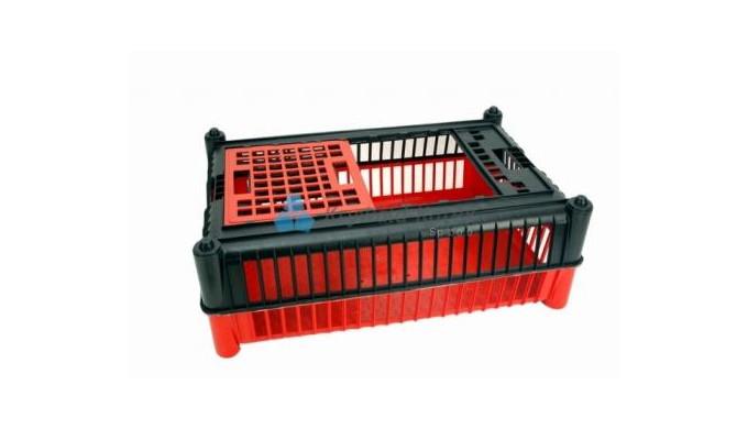 Destinată transportării păsărilor vii. Culorile standard: partea de jos - culoare roşie, partea de sus – culoare neagră.