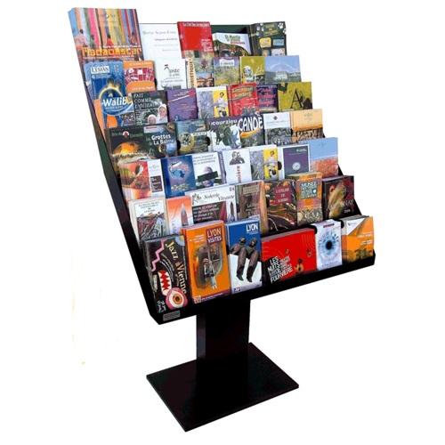 Le meuble idéal pour stocker et mettre à disposition un maximum de dépliants. Grande capacité, 7 niveaux en gradins, pou