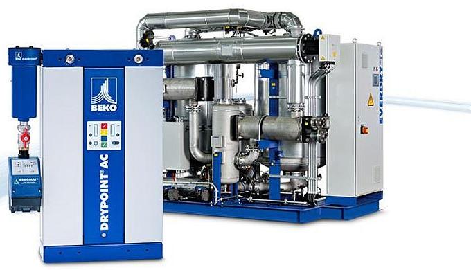 Kaltregenerierende Adsorptionstrockner - DRYPOINT® AC Unsere kaltregenerierenden Adsorptionstrockner sind dank hochwert