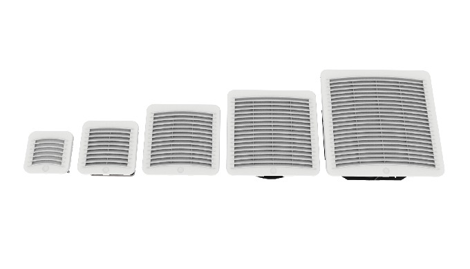 The filter fans Kryos⊃3&#x3b; GS for the ventilations of electrical panels are the perfect solution when the ambient temperat