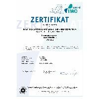 IMO Control Zertifikat 169119 - 1089256