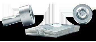 Uniones resistentes de piezas de aluminio con la nueva matriz del remache autoperforante RIVSET®
