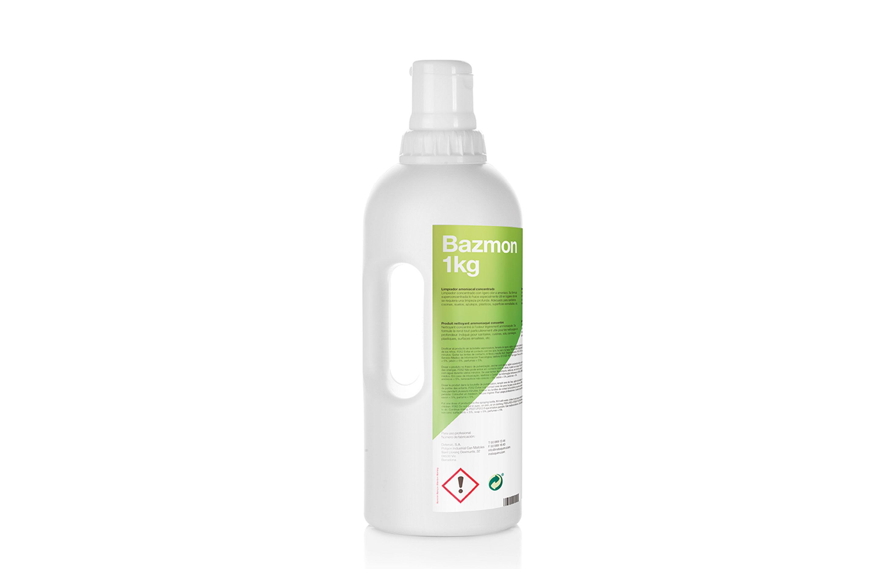 Bazmon. limpiador amoniacal concentrado - Autodosis.