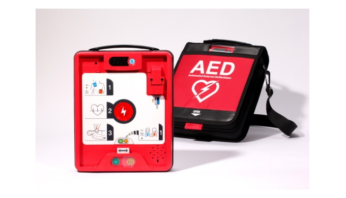 Heart +ResQ (AED-Automated External Defibrillator)