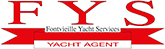 Services liées à la gestion des yachts de plaisance.