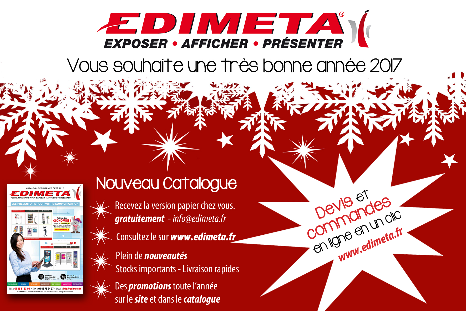 EDIMETA - Nouveau catalogue 2017