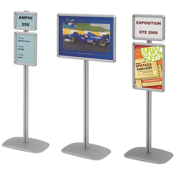 Changement de vos affiches en quelques secondes Utilisation à l'intérieur pour valoriser toutes vos informations, affich
