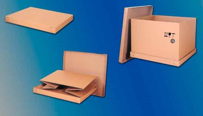Embalajes de cartón rotulables y personalizados.