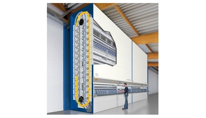 Hänel Rotomat®: Automatizovaný skladový systém pro průmysl