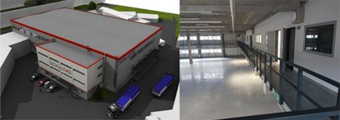 Neueröffnung des Schaltag-Werks in Tschechien