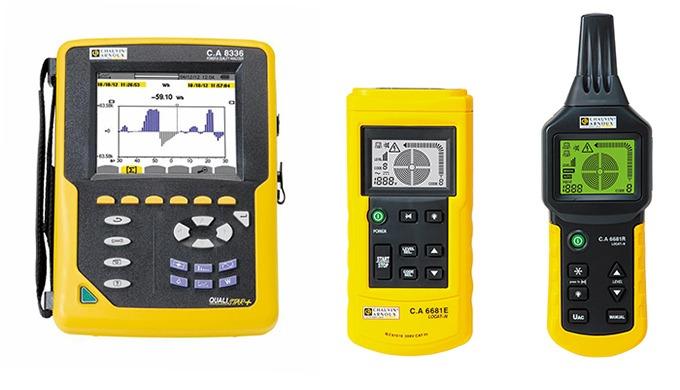 MESURE ELECTRIQUE Une offre de produits complète dans le domaine de la mesure : • Mesure électrique portable, •