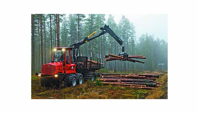 трелевка леса на делянки,весь комплекс основных лесосечных работ