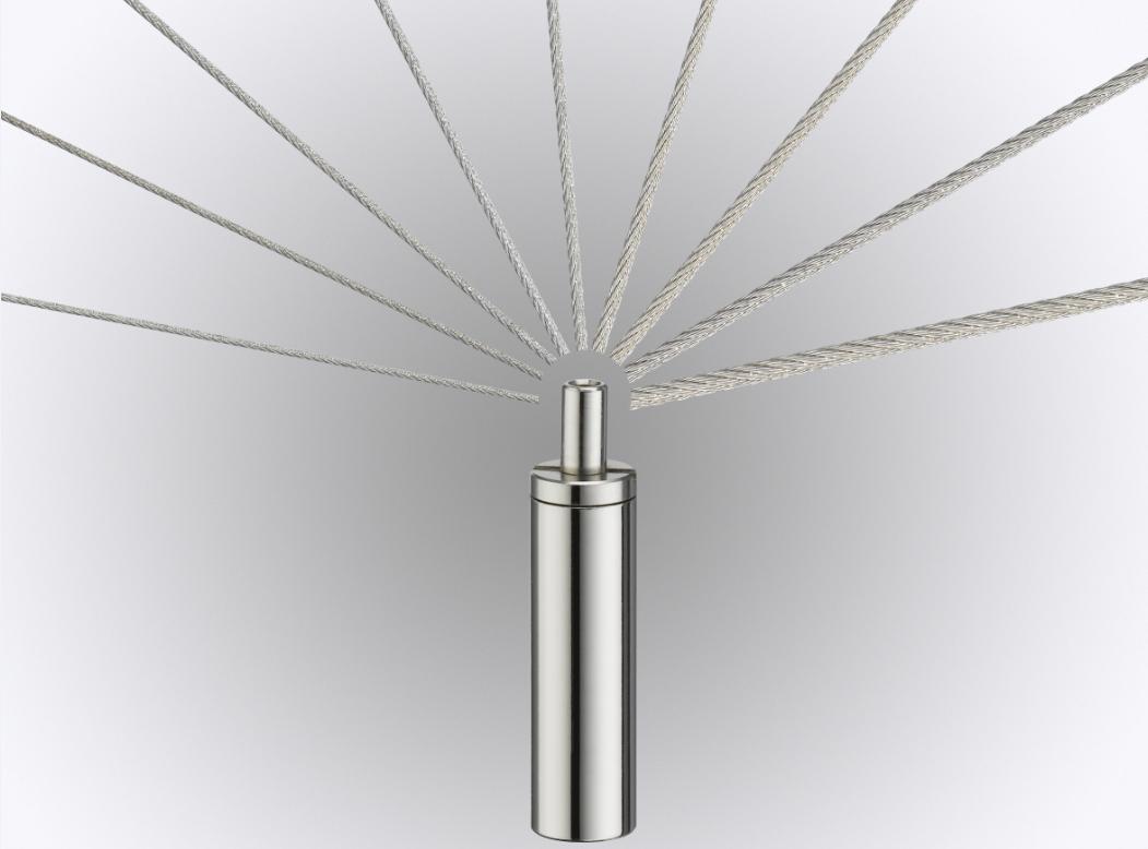 Drahtseilhalter / Seilspanner