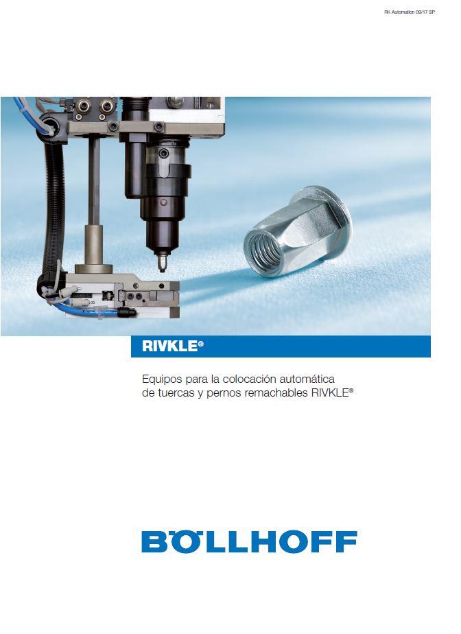 Remachadoras automáticas RIVKLE®: toda la oferta de BOLLHOFF en nuevo catálogo
