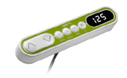 The DPF1W desk panel is a perfect choice for a wide range ofoffice desks. By use of the display you can read out/track