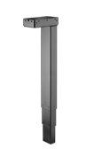 The DESKLIFT DL16 is a compact 3-part lifting column perfect for a wide range of different desk applications likeoffice
