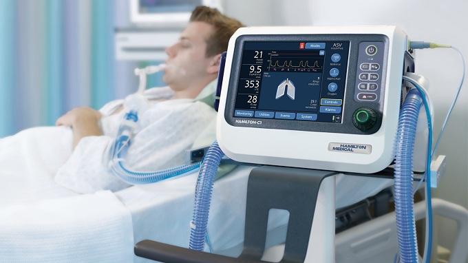 Ventilator de pacient model HAMILTON