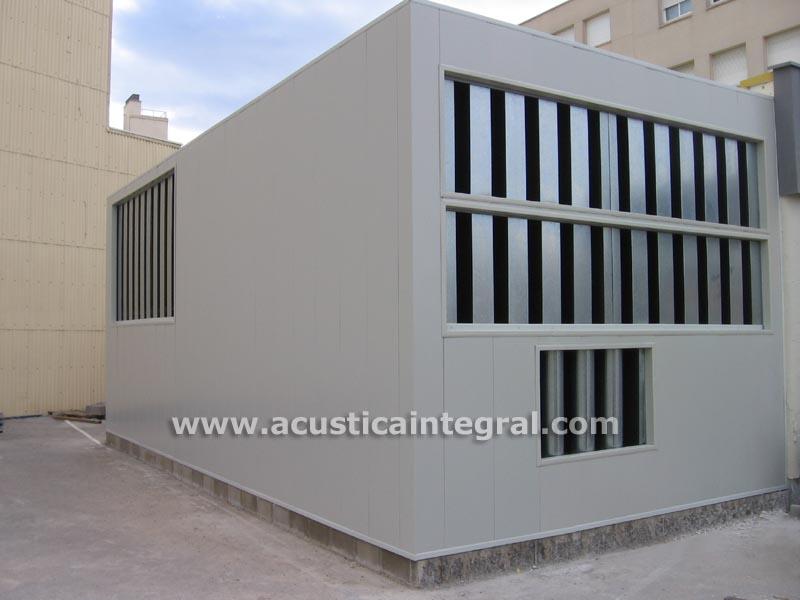 Cerramientos y cabinas acústicas exterior