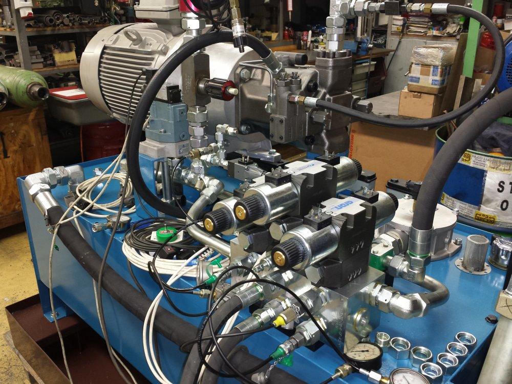 Montáž hydrauliky, hydraulické obvody