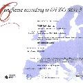 Certificate according to EN ISO 3834-3/Certifikat skladnosti z EN ISO 3834-3:2006