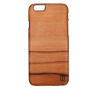 el iphone 6 real de la madera de la caja del teléfono(el Hombre y la Madera SAI / BL)