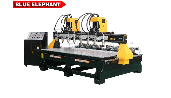 ELECNC-1325 Multi 8 spindles Woodworking Machine