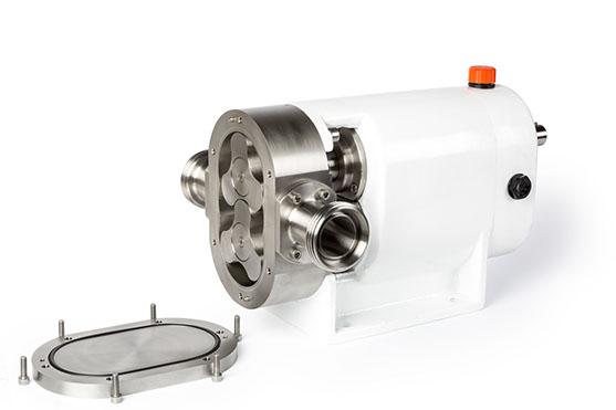 Las bombas lobulares LOBAL están constituidas esencialmente por dos rotores o engranajes exteriores, de forma lobular, e
