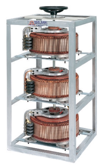 3x6,5 - 3x15 KVA Variable Transformer (VARIAC)