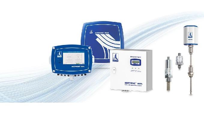 Der Schlüssel zur erfolgreichen Optimierung in Druckluftnetzen sind Daten. Das Messtechnik-Programm METPOINT® mit den Be