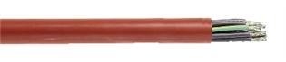 Denna kabel används som styr-och anslutningskabel i samband med höga temperaturer. Kabeln har god UV- och kemisk beständ