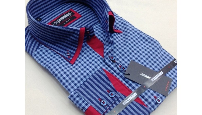 High quality men's fashion shirt for production labels