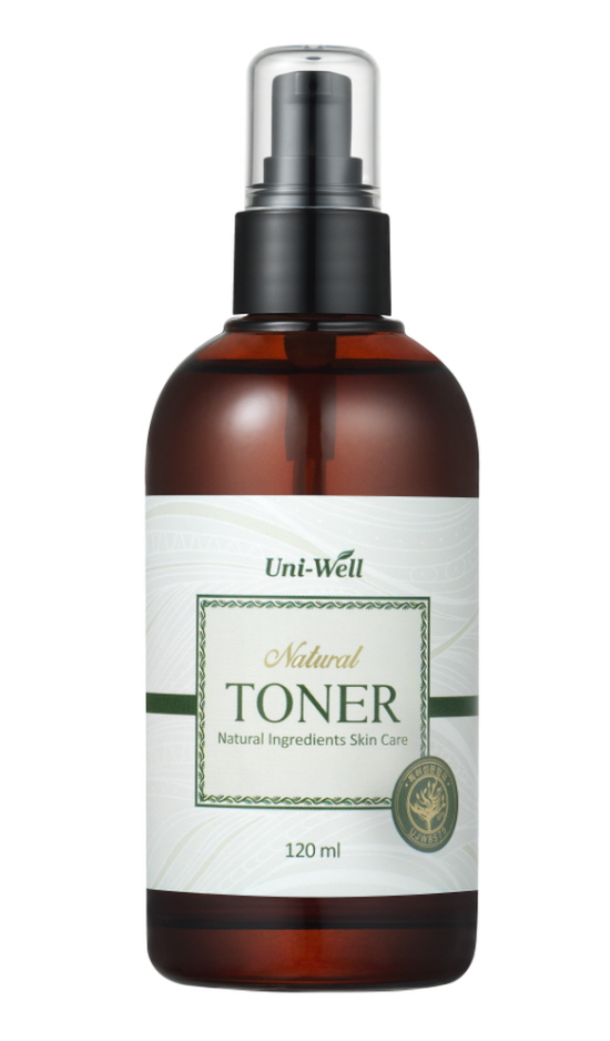 Natural Toner -Whitening + Anti-winkle cosmnetics -Natural Cosmetics for the first step of dermal fasting -Material : P