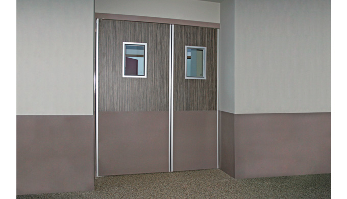 1 vantail ou 2 vantaux à pivots linteau Groom GRL 100 1 vantail ou 2 vantaux GRL 100 avec asservissement déporté 1 vanta