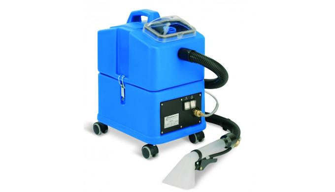 SW15est un aspirateur injecteur extracteur conçu pour nettoyer les tissus d'ameublement et les intérieurs de voitures