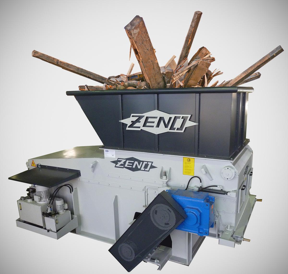 Holzzerkleinerung mit dem ZENO ZTLL
