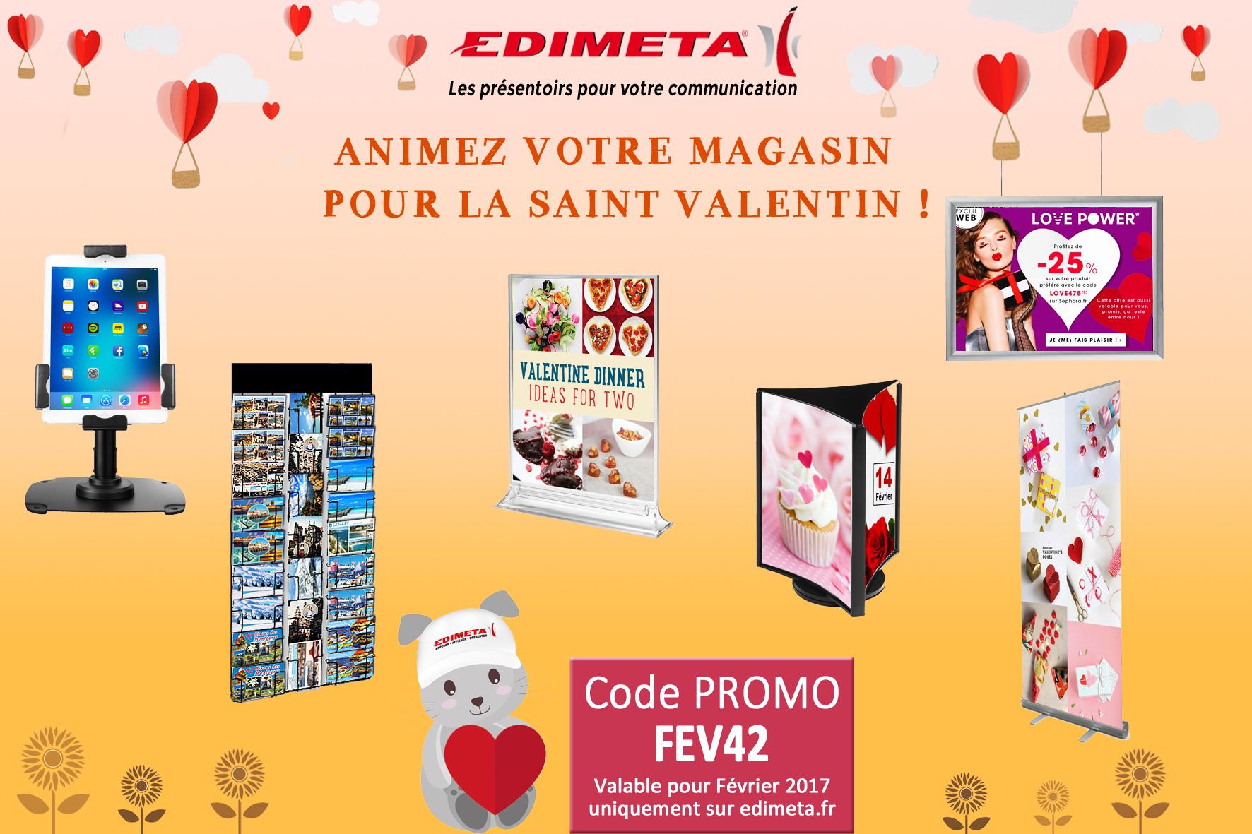 EDIMETA - Code promo pour Février 2017